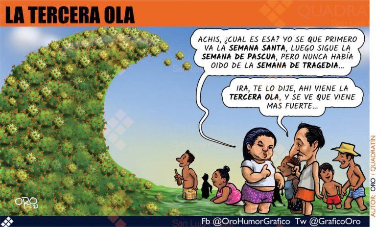 Caricatura #Oro | Tercera Ola